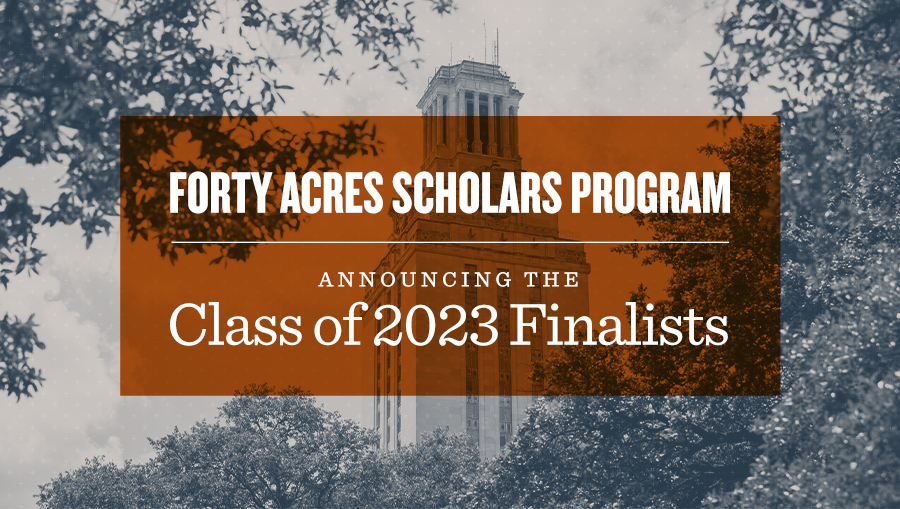 Class of 2023 Finalists