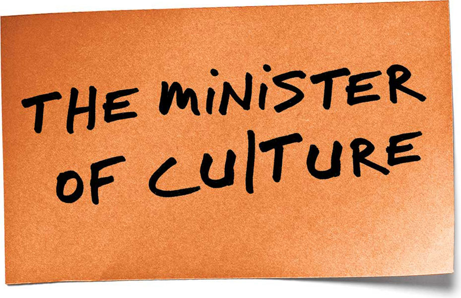 The Minister of Culture