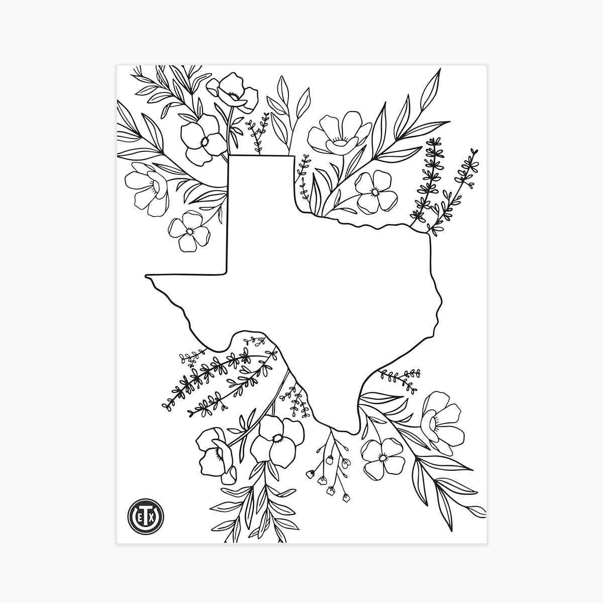 Coloring Pages - Floral