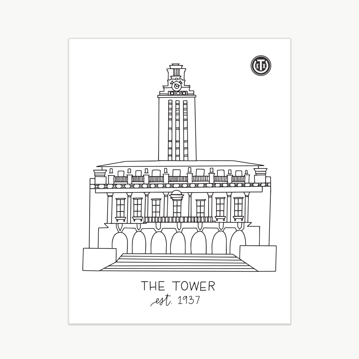Coloring Pages - Tower