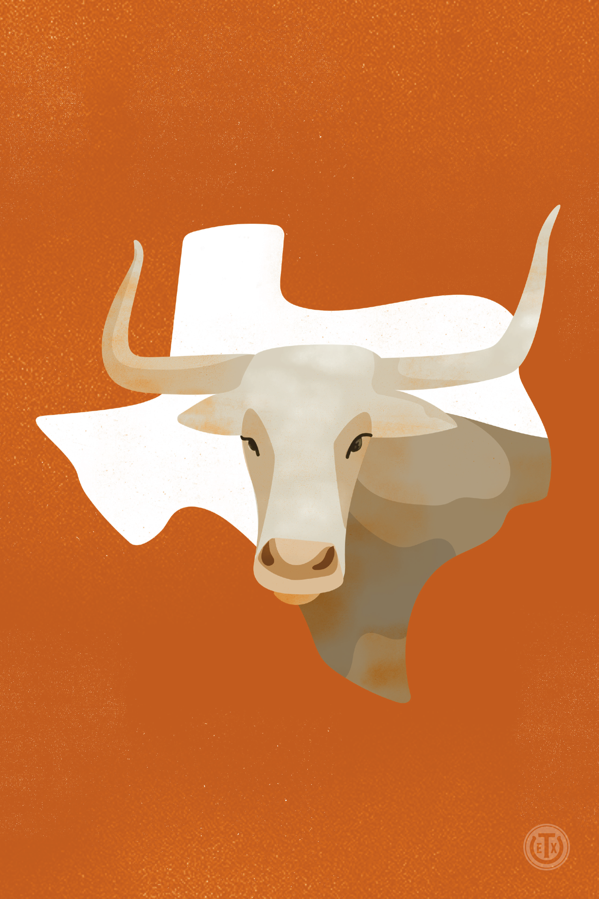 Texas Longhorns Coloring Page Clipart (#891742) - PinClipart | 3000x2000