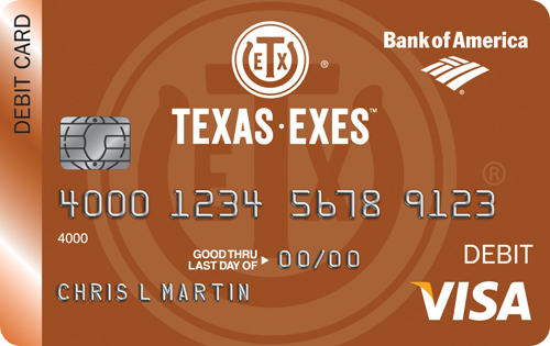 Texas Exes Debit Card